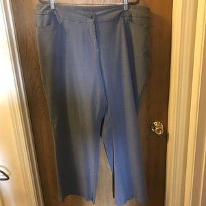Lane Bryant gray dress pants